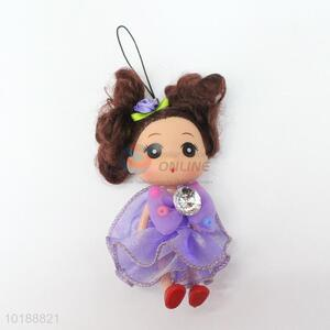 Beautiful hot selling mini doll key chain