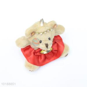 Popular low price high sales bear key chain