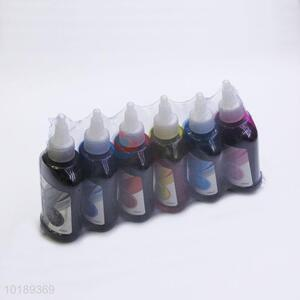 OfficeMax 6 Bottles/Set Bulk Ink Textile Printing Ink