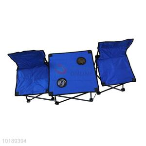 Hot Sale Portable Outdoor Stool Folded Beach Chairs Set
