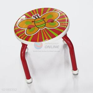 New Arrival Portable Red Plastic Baby Stool Wholesale