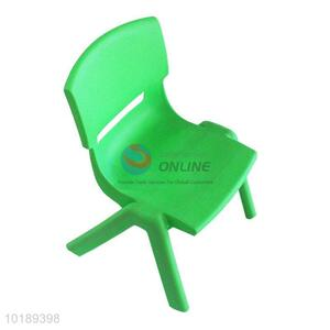 Portable Colorful Baby Plastic Stool Chair With Lazyback