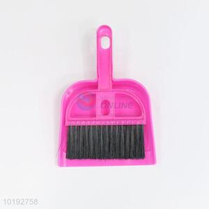 Good quality plastic dustpan with brush set