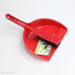 Household dustpan with brush set