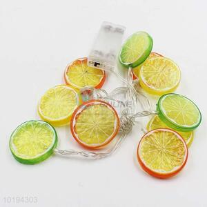 Battery Operated Lemon String Lights for Party/Holiday Decoration