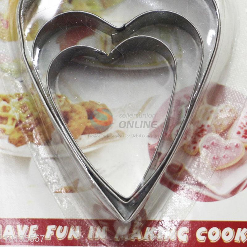 Lovely Heart Birthday Cake Cookie Cutter Mold