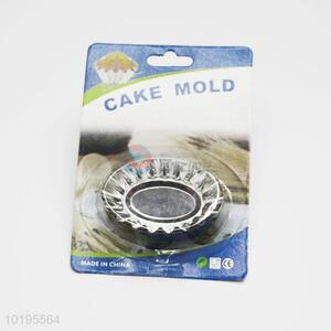 Round shaped bakeware tools cookie cake mould