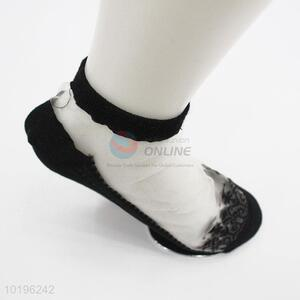 Fashion Women Ankle Sock High Quality Lace Socks