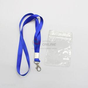 Simple Style ID Card Holder Certificate Card Holder And Neck Strap Lanyard Sling