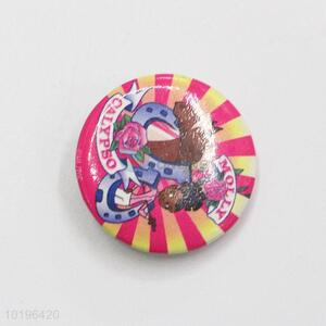 Factory Wholesale Colorful Pin Badge for Clothes Decoration
