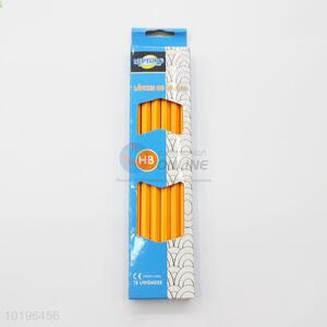 Orange Color Office and Drawing HB Pencil