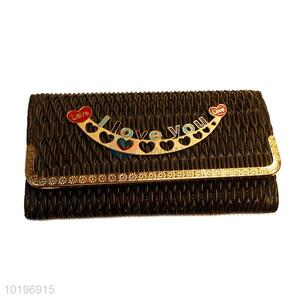 Cheap good quality black cute purse