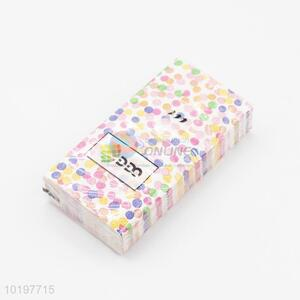 Bottom price printed pocket tissue/paper napkins/tissue paper