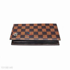 Good Quality Plaid Rectangular Purse/Wallet for Daily Use