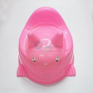 Wholesale Pink Color Simple Style Cartoon Baby Toilet