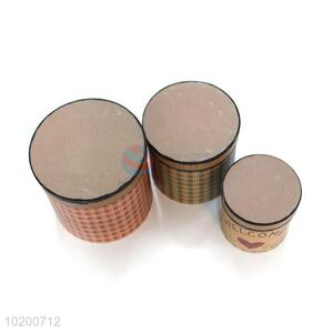 Wholesale Cylindrical Gift Box 3 Pieces Set