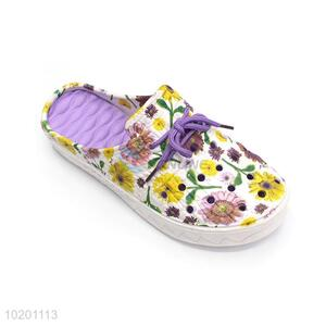 New Design Hollow Out Casual Slipper For Woman