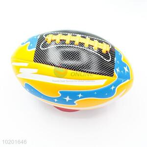 High quality promotional american football official size rugby ball