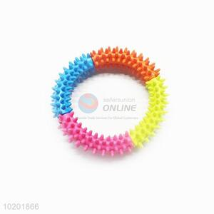 Colorful Pet Circle Chew Toy