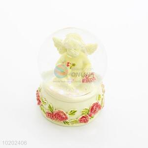 Wholesale cheap new style angel resin crystal ball