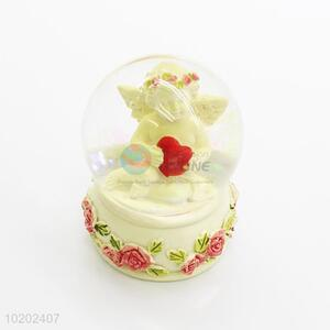 Good quality hot selling angel resin crystal ball
