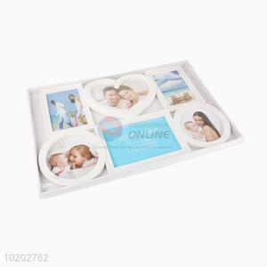 Heart plastic family tree collage photo frame picture frame