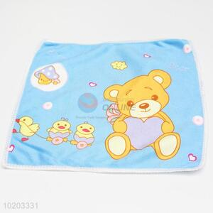 Lovely blue kids small hand towel,microfiber cleaning towel