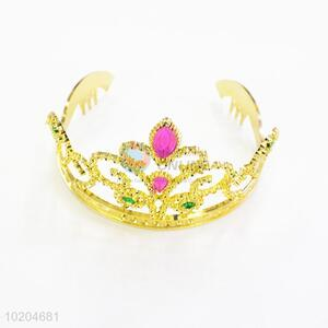 Hair accessories golden party hair crown tiaras