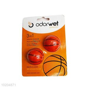Daily use cheap 2pcs basketball shape air freshener