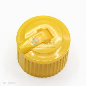 New Design Yellow Plastic Bottle Cap