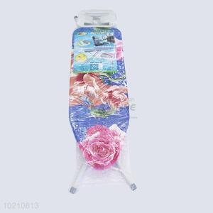 European foldable ironing board with step ladder