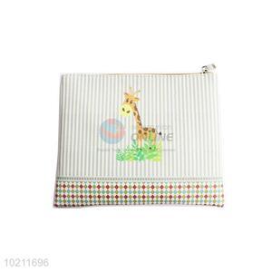 Nice Cartoon Giraffe Design PU Clutch Bag for Sale