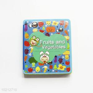 New Arrival Fruits and Vegetables Learning Books for Children
