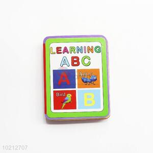Factory Direct Hardcover Children Book for Learning Alphabet