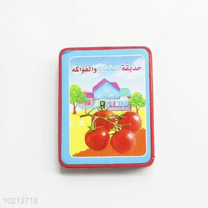 Popular Wholesale EVA Child Book Coloring Children Books with Fruits&Vegetables Pattern