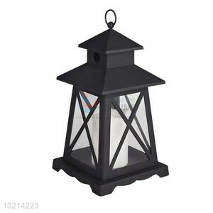 Vintage LED Candle Lantern/Storm Lantern with Timer
