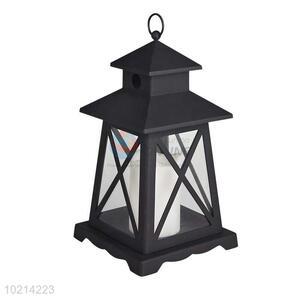 Vintage LED Candle Lantern/Storm Lantern with Timer