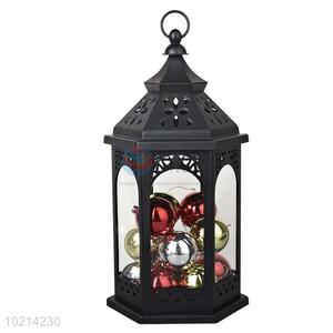High Quality LED Candle Lantern/Storm Lantern with Colorful Ball for Festival/Party
