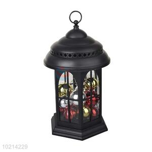Vintage LED Candle Lantern/Storm Lantern with Colorful Ball for Festival/Party