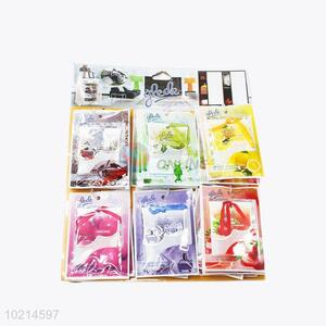 Low price high quality colorful air freshener for car