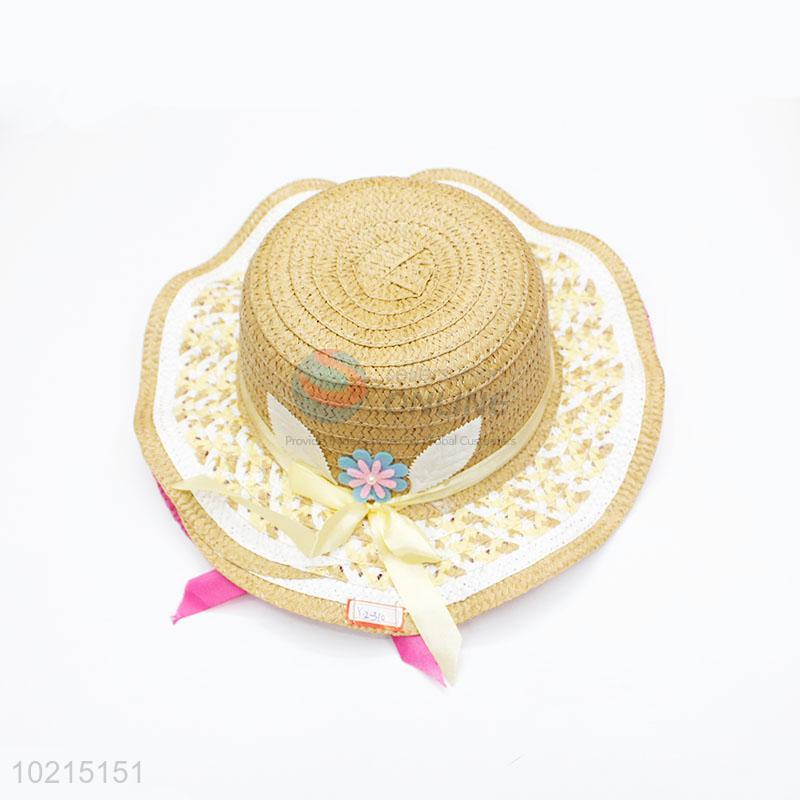 New Arrival Round Straw Hats Caps for Children - Sellersunion Online b0b9d3f0e15