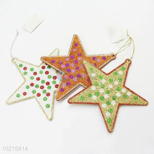 Wholesale Cheap Five-pointed Star Shaped Ornament for Christmas Decor