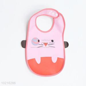 Pretty Cute PVC Baby Bibs in Cat Shape