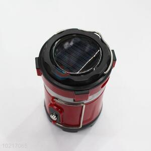 Wholesale cheap top quality red&black camping light