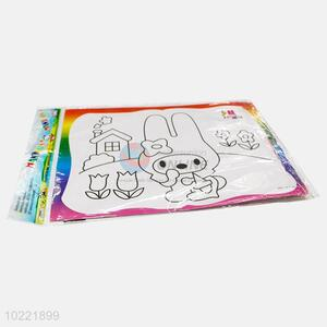 New arrival rabbit shape drawing paper for kids
