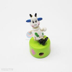 Fashion Style Wooden Cartoon Pencil Sharpener