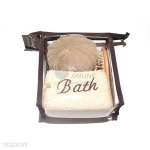 China Wholesale Bath Set In PVC Bag
