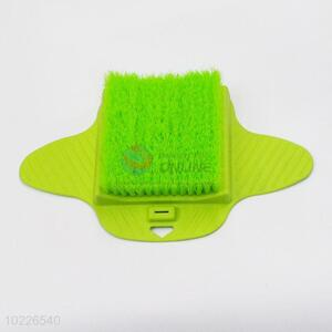 Household green soft foot brush with suckers