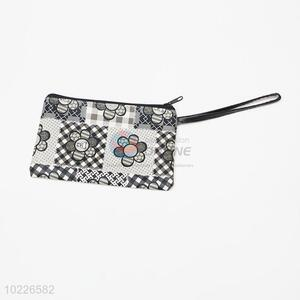 Floral retro woman pvc <em>cosmetic</em> pouch