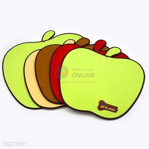 Good quality top sale apple shape pet mat